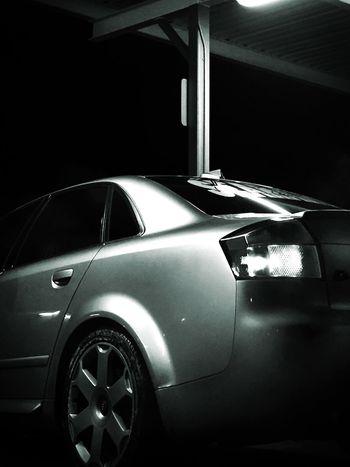 Obscure Blackandwhite Nightphotography Audi S4 Audi S4 Car Taking Photos Quattro Taking Photos
