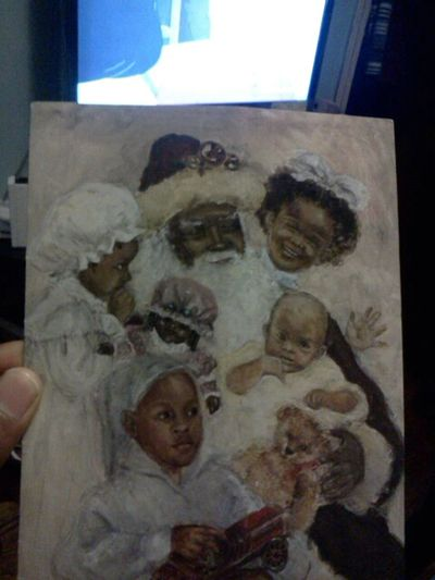 the christmas card i jus recieved