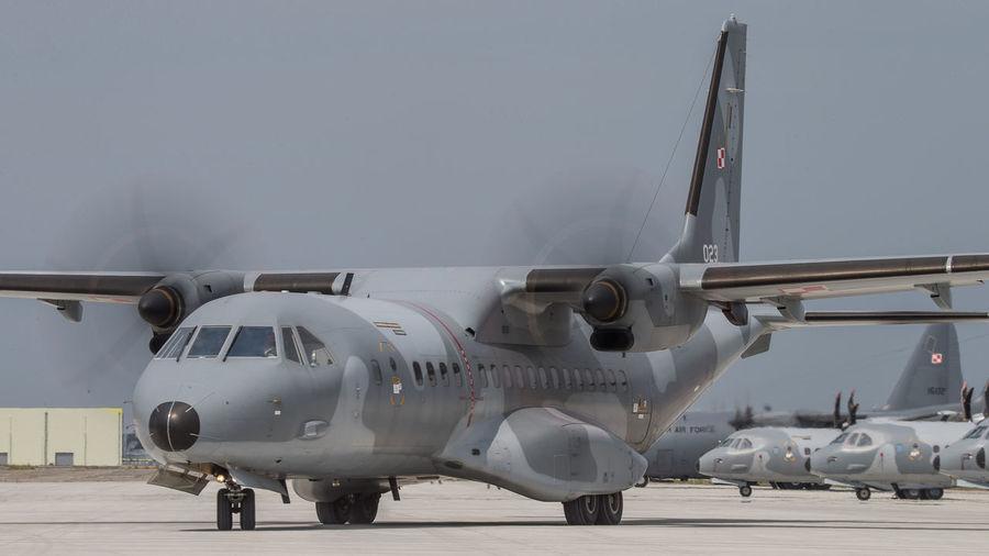 Air Force Aircraft Aviation C295 Cargo Casa Military Photography Plane Poland Transportation