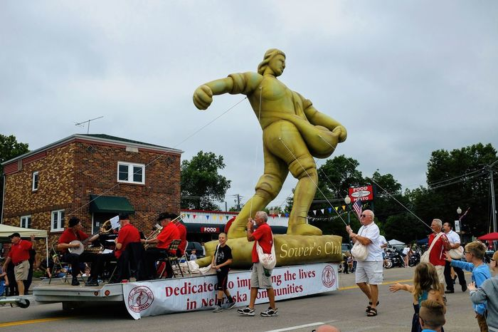 56th Annual National Czech Festival - Saturday August 5, 2017 Wilber, Nebraska Americans Camera Work EventPhotography EyeEm Best Shots FUJIFILM X100S Golden Sower Main Street USA Nebraska Parade Balloon Photo Essay Small Town America Storytelling Visual Journal Wilber, Nebraska Adult Architecture Building Exterior Built Structure City Crowd Culture And Tradition Czech Days Czech Festival Day Large Group Of People Leisure Activity Lifestyles Men Outdoors Parade Parade Float People Photo Diary Protest Protestor Real People Riot Sky Small Town Stories Streetphotography Travel Destinations Tree Women