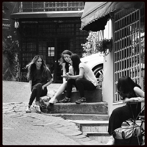 Blackandwhite Monochrome Istanbul Style