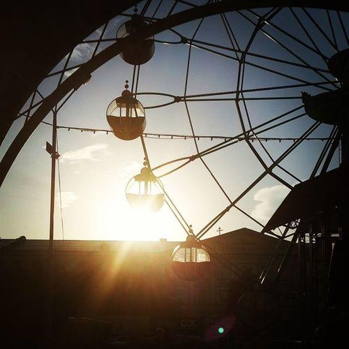 Клевый вечер радостные моменты жизни колесообозрения Оренбург парктополя