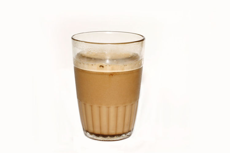 Breakfast Diet Enjoying A Meal Hot INDONESIA Milk Tea ❤ Objects Snack Sugar Baking Biscuits Brown Close-up Cup Delecious Flavour Glass - Material Indoors  Isolated White Background mealtime Studio Shot Sweet Food Water White White Background