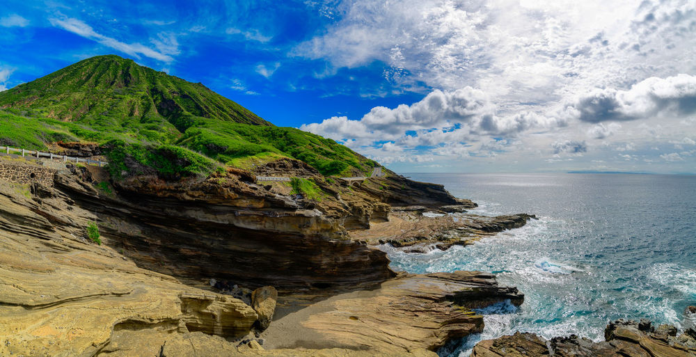 Beautiful Breathtaking Coastline Hawaii Nature Oahu Pacific Panorama Wave Amazing Beauty Blue Cliff Clouds Coast Destination Historic Island Landmark Landscape Ocean Photography Scenics Scnery Skyscraper