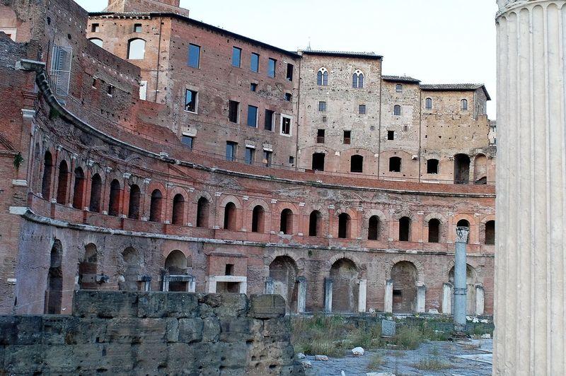 090711 Architecture Built Structure Forum Romanum Galpay Italy❤️ Rom Roma Rome
