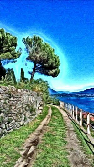 Lago Maggiore Digital Painting