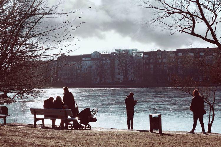 Der Alltag der kiel in Deutschland Deutschland Kiel Kieler Förde Enjoying Life People Sky Himmel Himmel Und Wolken Menschen