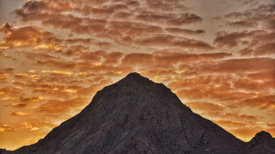 Yazd sunset