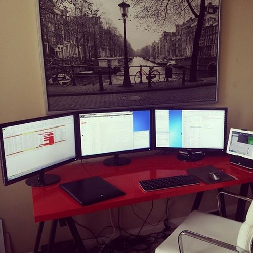 The home office is finally completed. Let the productivity decline!