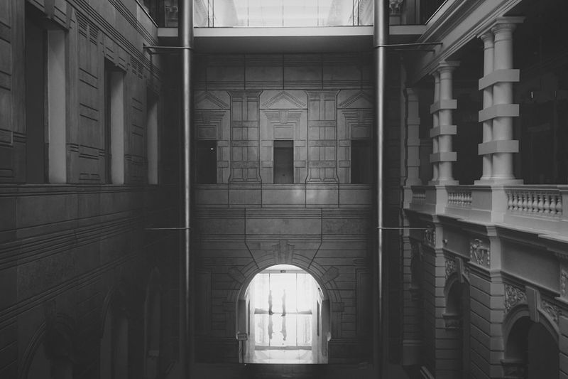 Chamber of secrets The Architect - 2015 EyeEm Awards Amazing Architecture Interior Design Architecture_bw Fine Art Photography Eyeem In Singapore Open Edit EyeEm Best Shots The Traveler - 2015 EyeEm Awards Symmetry Architecture_collection Column Welcome To Black