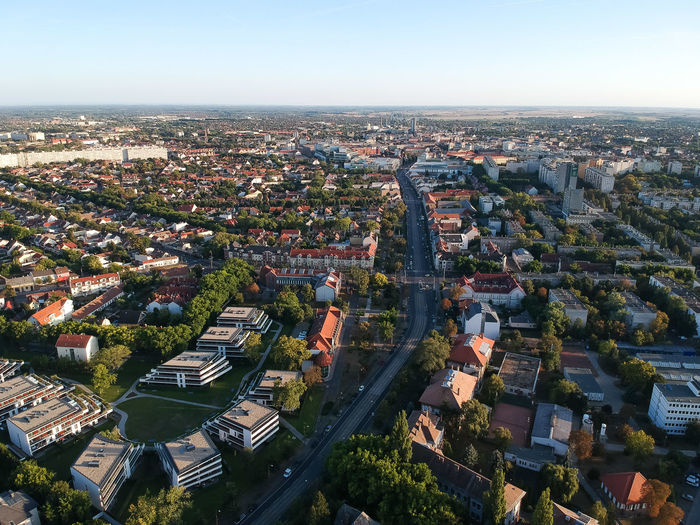 My city from 140 meters Dji Spark Dronephotography Nature Forest Dji Cityscape City Illuminated Aerial View High Angle View Sky Architecture Office Building Urban Skyline