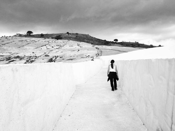 Ruins Art Full Length Togetherness Mountain Men Sky Landscape
