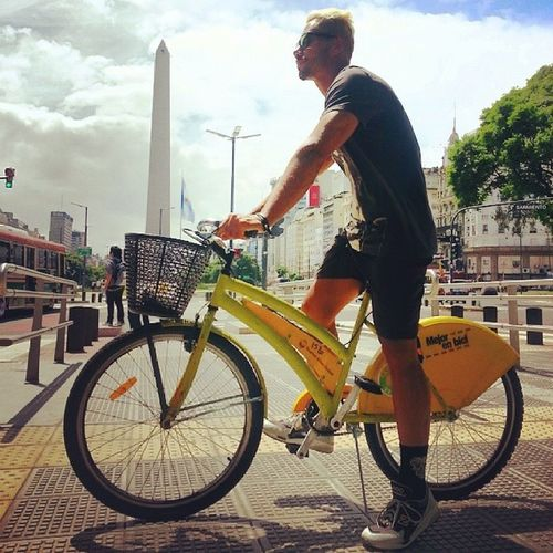 Obelisco 9dejulho Buenosaires Debike deliciadevida