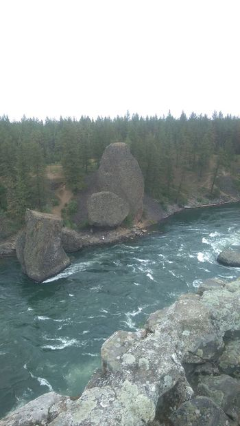 Beauty In Nature Bowl And Pittcher Cliff Day Geology Geologyporn Landscape Nature Non Urban Scene Physical Geography Rapid Remote Rippled Riverside Riverside State Park Rock Rock - Object Rock Formation Scenics Sky Spokane Spokane Wa Tourism Travel Destinations Water