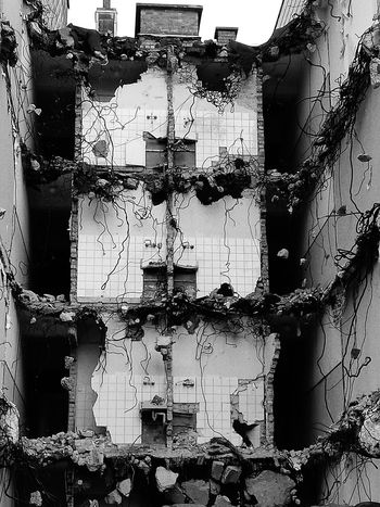 Demolition Construction Site Black & White Insideout Omg First Eyeem Photo