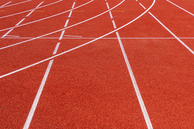 Lines Teamwork Team Sport Objectives Targets Running Orange Color Track And Field Sport Running Track Competition Sports Track Red Curve In A Row Competitive Sport No People Stadium Single Line Outdoors Sports Race Day Track Event Track And Field Event Sports Venue Dividing Line