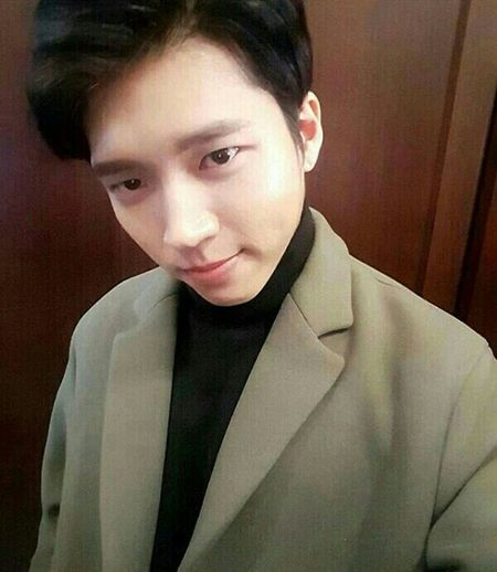 "it's so long for me to upload a picture. And now, I upload my favorite singer ""Nam Woohyun"", main vocal of INFINITE .. Infinité Namwoohyun Woohyun Namu"