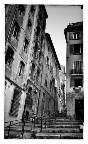 Le Panier - Marseille Provence NEM Street Blackandwhite NEM Black&white