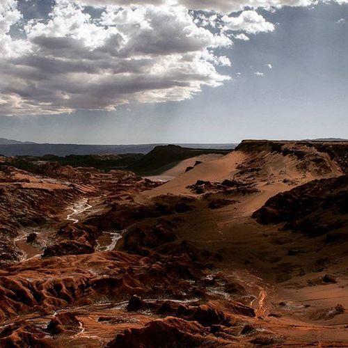 Valle de la Luna, Atacama Valledelalunachile Atacamadesert Marte Mars Landscape