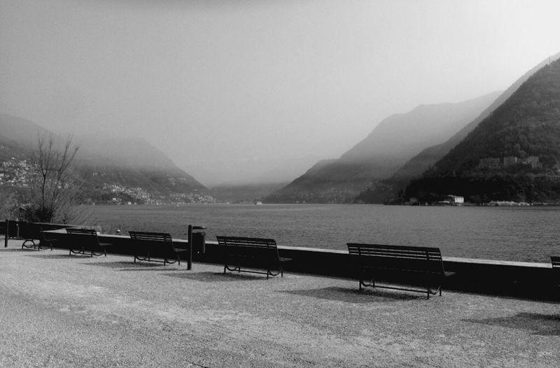 Lake Como Monochrome Minimalism EyeEm Best Shots Black & White Eye4photography  Taking Photos Silence