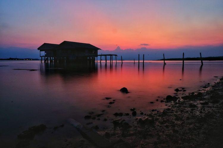 After sunset Sunset #sun #clouds #skylovers #sky #nature #beautifulinnature [a:showcase April
