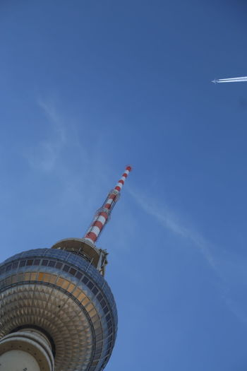 Alexanderplatz Architecture Day Low Angle View No People Outdoors Sky Tv Tower Berlin