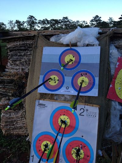 Not bad at 20 yards