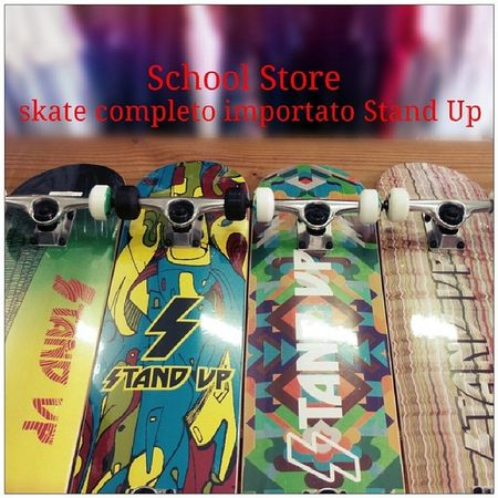 Skate completo Stand Up Skate Completo Standup Importado novidade variedade schoolstore school store core lifestyle urbanwear skateshop boardshop siga followme follow me