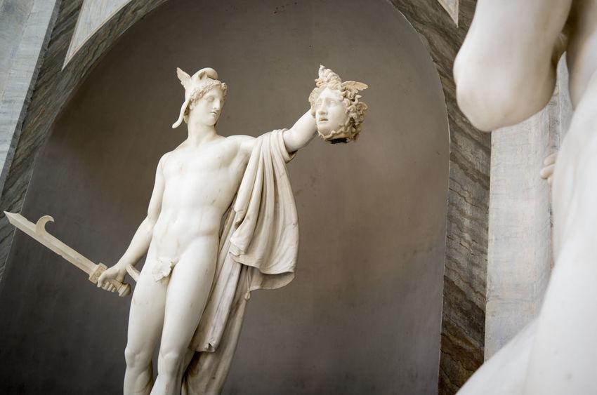 Art Italy Medusa Perseus Roma Rome Sculpture Vatican