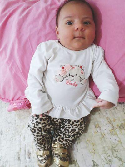 minha Pequena Geovana! 👸🌸 Baby first eyeem photo