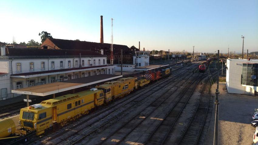 City Railroad Track Train - Vehicle Subway Train Rail Transportation Railroad Station Railroad Station Platform Sky