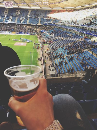 Fussball HSV Hamburg Soccer Soccer⚽ Bundesliga Drink Leisure Activity Stadium Soccer Field Weekend Activities Volksparkstadion