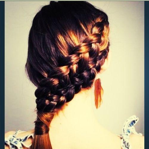 Got This Made On Mu Hair!:)