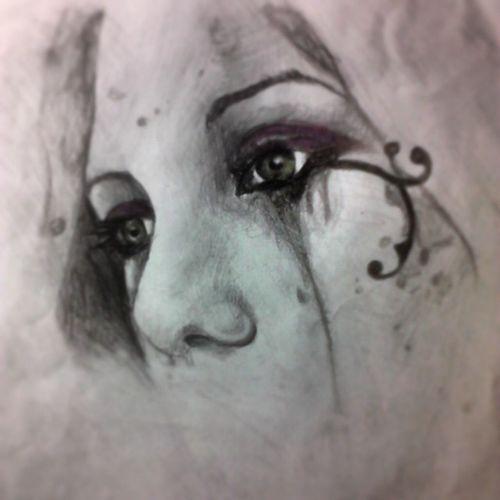 Victoriafrances Dibujo Draw Color Carbon Paint Pencil Pen Lapiz