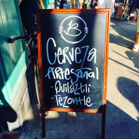 Quilatzli Tezontle Beer Craft ar Mexico Market