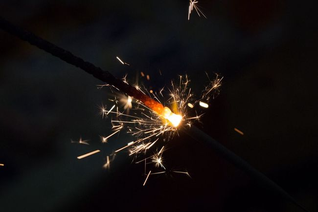 Fireworks Fire Red Sparks
