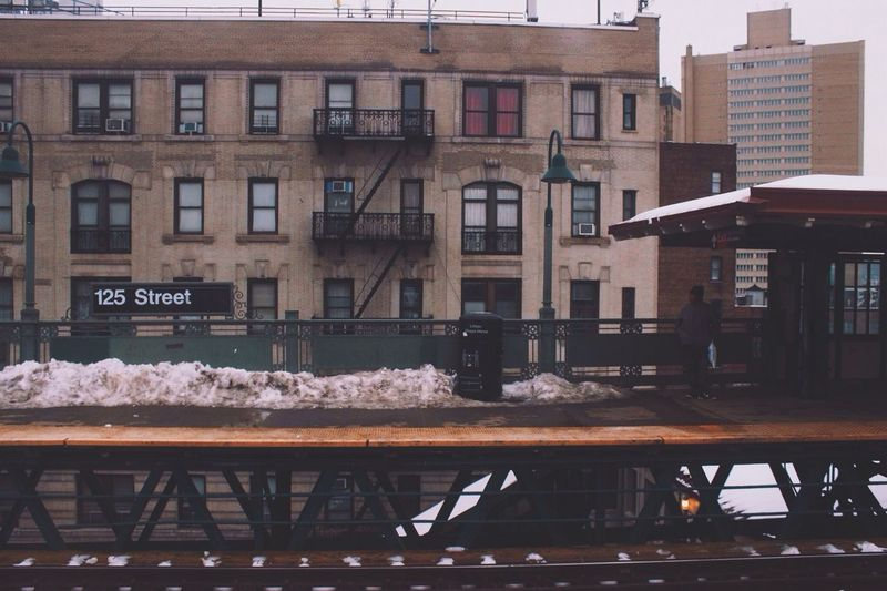 125th St Waiting For A Train Harlem  New York