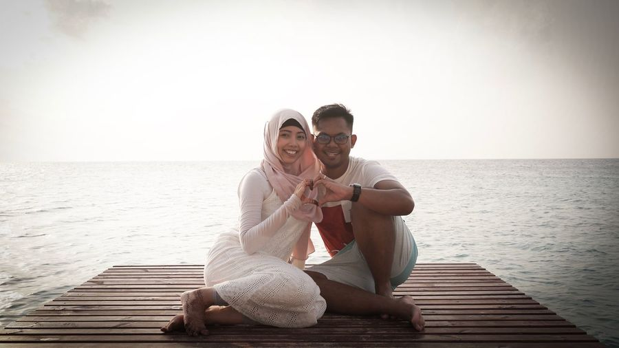 Cause you are the other half that completes my heart. Love Outdoors Honeymoon Maldives The Week On EyeEem Eye4photography  Relaxation Couple Newlyweds Husband And Wife Eternity Vacations Wedding Beach Sunset EyeEm Best Shots EyeEm Gallery Togetherness Bonding Sweet Sea