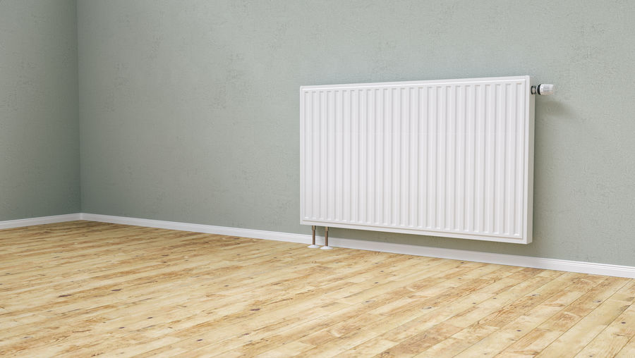 radiator in an apartment room Central Copy Space Economy Gas Hot Household Room Valve Wall Winter Wood Cold Energy Evironment Expensive Heat Heating House Knob Living Room Parked Radiator System Temperature Thermostat