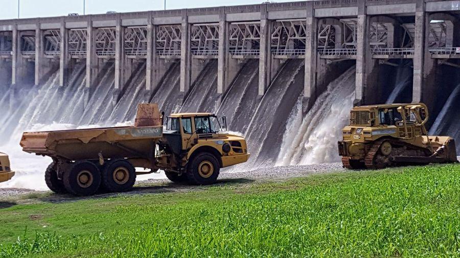 releasing water