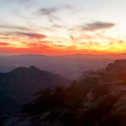 Tucson.. Home.. My heart. Breathtaking view from the mountain tonight. Can't believe I live down there and can go up here anytime (weather permitting) le'sigh. Mtlemmon Tucson