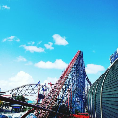 Blackpool Pool Pleasure Beach Themepark Rollercoaster Ride Ride Or Die Exciting Day!!! Height Thrill Rides Thrill Seeker First Eyeem Photo