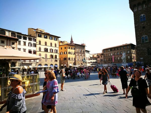 Italy Ancient Wall Ancient Ancient Architecture Community Sun Human Urban Florence Florence Italy Piazza Della Signoria No Filter City Women Sky Architecture Building Exterior Built Structure Museum Town Square Old Town Place Of Interest Bell Tower Visiting Historic History Palace Art Museum
