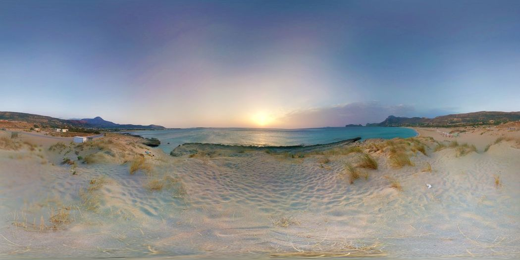 Beach Beachphotography Blue Blue Sky Falasarna Beach Kreta Photosphere Sea Sunset