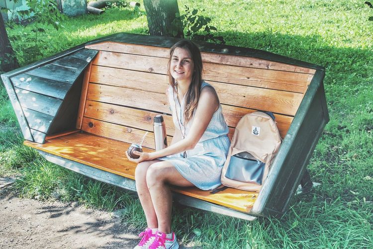 One Person Sitting Full Length High Angle View Day Leisure Activity Grass Outdoors Only Women One Woman Only Adults Only Real People Relaxation Legs Crossed At Knee People Lying Down Young Adult Young Women Lifestyles Adult Lost In The Landscape Been There. Done That. EyeEmNewHere Россия