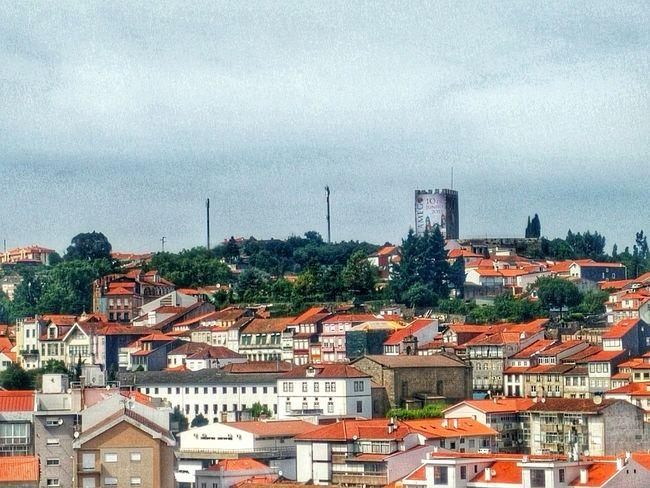 My town, Lamego, Portugal. Nature Lamego Hello World Beautiful Amazing World Churches Sky Old Douroriver Sun.