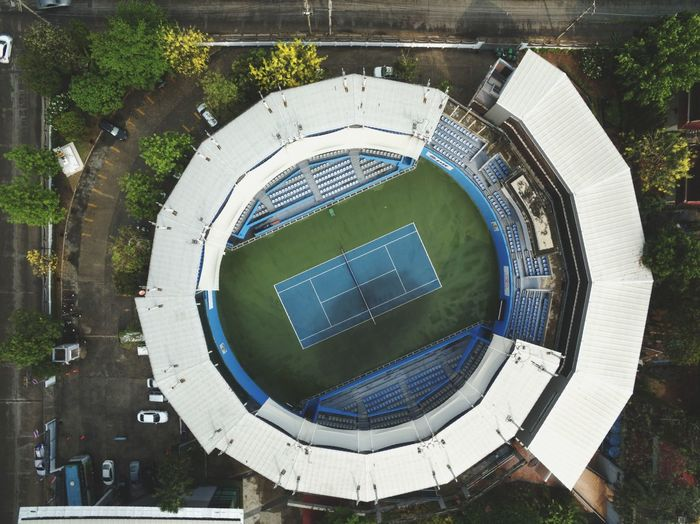 Flying High Drone View View From Above Drone  Above The City Aerial View High Angle View Competition Sport Complex Sport Competition Tenniscourt Tennis Club Tennis 🎾 Green Color Multi Colored Sport