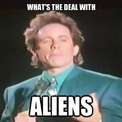 Seinfeld AncientAliens