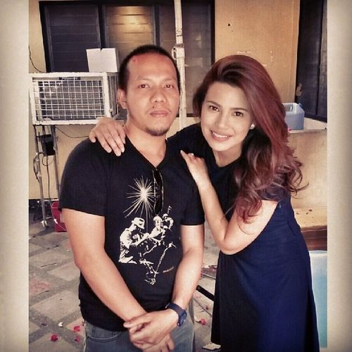 Say hi to the beautiful isabel @d_laurel Annalizataping