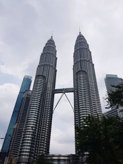 Proud Malaysian ❤️ KLCC Twin Towers KLCC❤❤ City Modern Skyscraper Urban Skyline Cityscape Sky Architecture Building Exterior